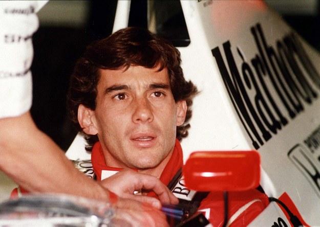 Ayrton Senna /CAF-EPA /PAP