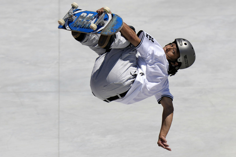 Ayumu Hirano myśli już o kolejnych igrzyskach - tym razem zimowych /AP/Associated Press/East News /East News