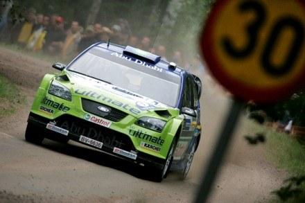 Aż tak szybko Szwed nie jechał... / Kliknij /AFP