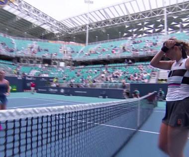 Azarenka wyeliminowała Cibulkovą w Miami. Wideo