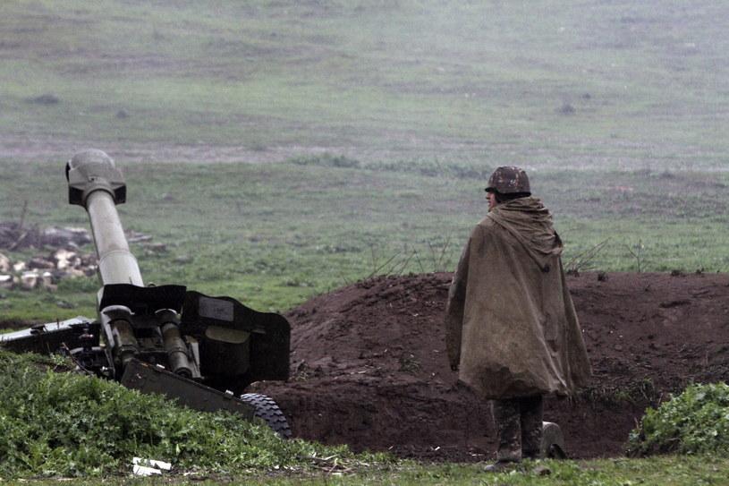 Azerbejdżan i Armenia wzajemnie oskarżają się o eskalację sytuacji /VAHRAM BAGHDASARYAN /PAP/EPA