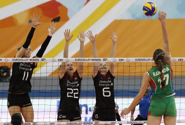 Azerki pokonały Niemki i awansowały do ćwierćfinału /Sergei Ilnitsky /PAP/EPA