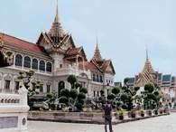 Azja: pałac w Bangkoku /Encyklopedia Internautica