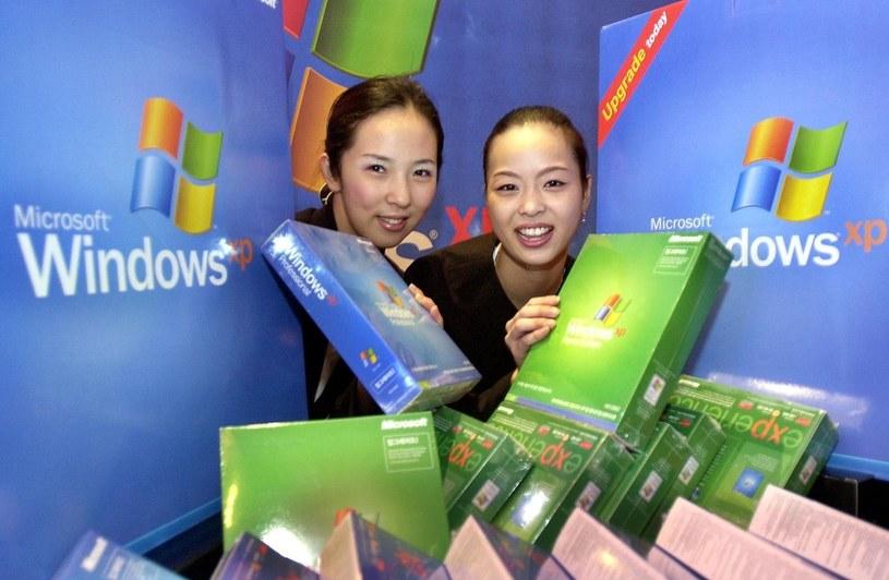 Azjatycka premiera Windows XP /AFP
