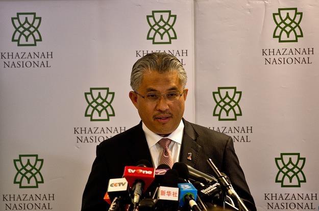 Azman Mokhtar, dyrektor Khazanah Nasional Berhad /AFP