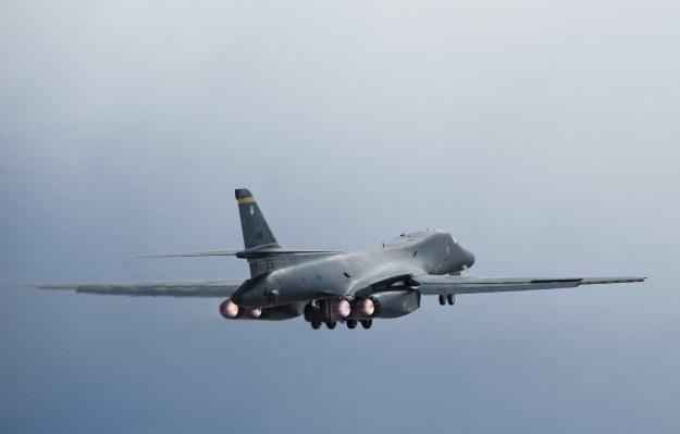 B-1B Lancer jest przystosowany do przenoszenia broni jądrowej. Fot. U.S. Air Force photo/Senior Airman Thomas Spangler /materiały prasowe
