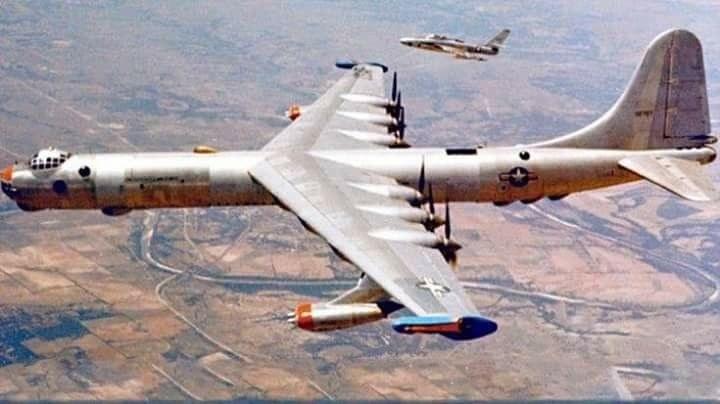 B-36 był podstawowym bombowcem strategicznym USA w latach 50. i początku 60. /USAF /domena publiczna