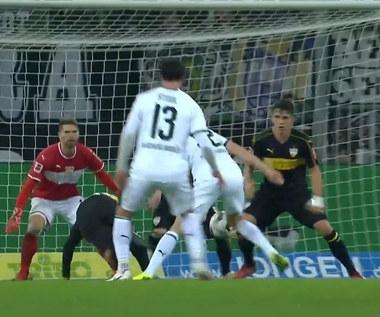 B. Mönchengladbach - VfB Stuttgart 3-0 - skrót (ZDJĘCIA ELEVEN SPORTS). WIDEO