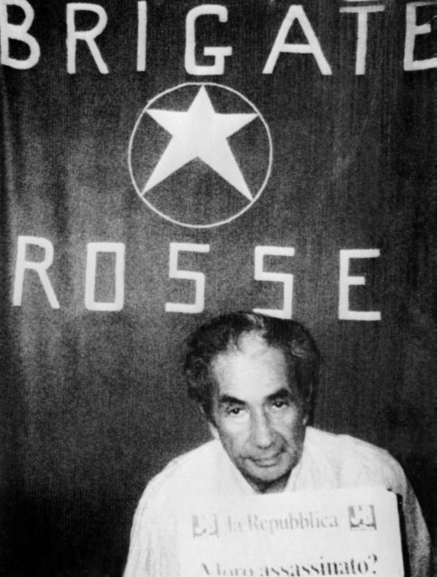 B. premier Włoch Aldo Moro został zamordowany przez Czerwone Brygady w 1978 roku /HO /PAP/EPA