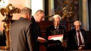 B. prezydent Niemiec uhonorowany Wrocławską Profesurą