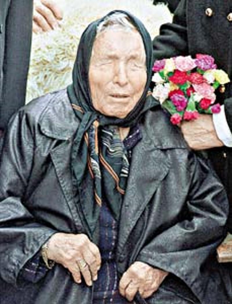 Baba Wanga, bułgarska jasnowidzka /Wikimedia Commons /materiały prasowe
