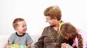 Babcia woli wnuka