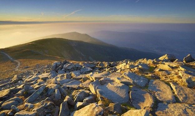 Babia Góra (Diablak) - widok ze szczytu, fot. Jan Włodarczyk /Agencja FORUM