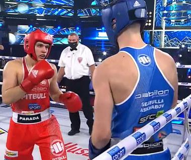 Babilon Boxing Show. Kacper Parada - Sejfulla Askhabov. Skrót walki (POLSAT SPORT). Wideo