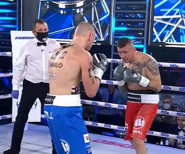 Babilon Boxing Show. Łukasz Stanioch znokautował Rafała Jackiewicza (POLSAT SPORT). Wideo