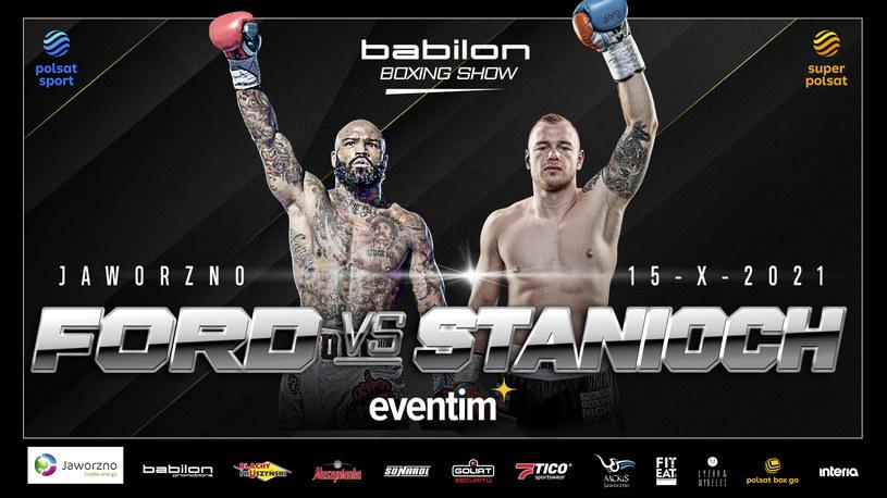 Babilon Boxing Show /Materiał prasowy /materiały prasowe