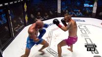 Babilon MMA 16. Jan Lodzik - Mateusz Białecki - skrót walki (POLSAT SPORT). WIDEO