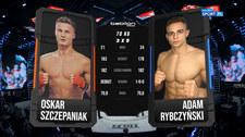 Babilon MMA 18. Oskar Szczepaniak - Adam Rybczyński. Skrót walki (Polsat Sport). wideo