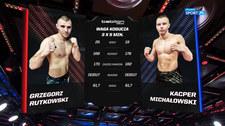 Babilon MMA 21. Grzegorz Rutkowski - Kacper Michałowski. Skrót walki (POLSAT SPORT). Wideo