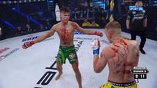 Babilon MMA 21. Oskar Szczepaniak - Arkadiusz Pałkowski. Skrót walki (POLSAT SPORT). Wideo