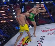 Babilon MMA 21. Piotr Kacprzak ciężko znokautował Konrada Furmanka