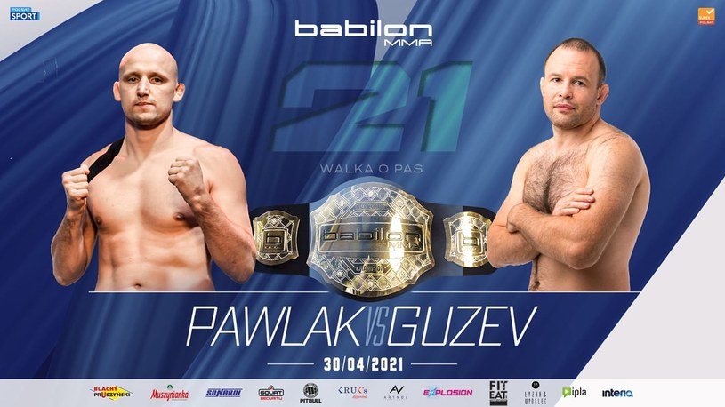 Babilon MMA 21 /mat.prasowe /materiały promocyjne