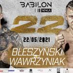 Babilon MMA 22 już w sobotę. Transmisja. Gdzie oglądać galę?