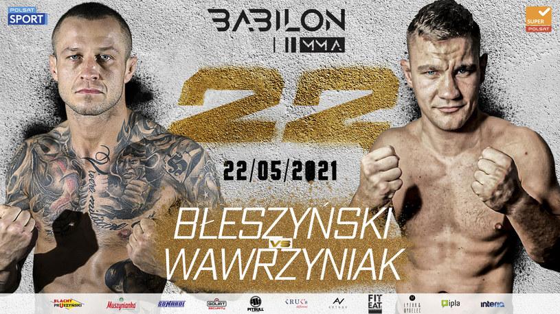 Babilon MMA 22 /mat.prasowe /materiały prasowe