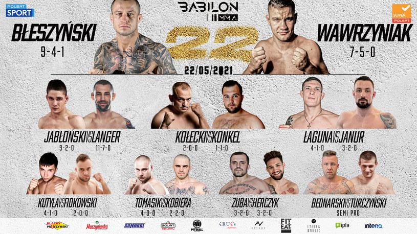 Babilon MMA 22 /materiały prasowe
