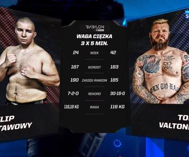 Babilon MMA 23. Filip Stawowy - Toni Valtonen - skrót walki. Wideo (POLSAT SPORT)