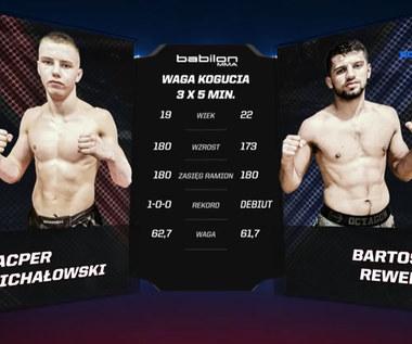 Babilon MMA. Bartosz Rewera - Kacper Michałowski - SKRÓT WALKI. WIDEO