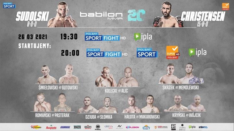 Babilon MMA /mat.prasowe /materiały prasowe