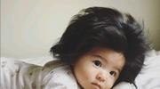 Baby Chanco: Urodziła się z bujną czupryną i została gwiazdą