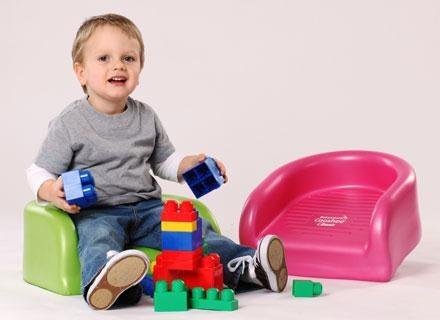 BabySmart jest pomocne przy stole i podczas zabaw na podłodze /materiały prasowe