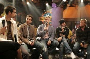 Backstreet Boys (AJ McLean drugi z prawej) /arch. AFP