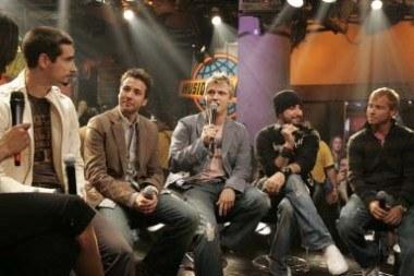 Backstreet Boys (Nick Carter w środku) /AFP