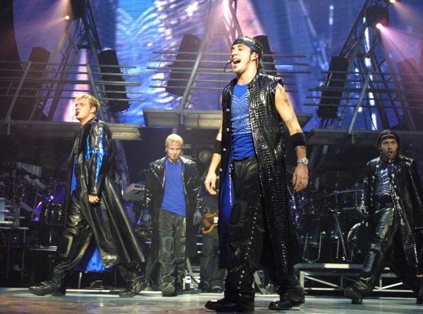 Backstreet Boys /- /Getty Images