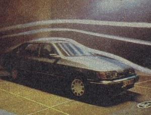 Badania aerodynamiczne są już stosowane powszechnie. Wynika to głównie z wpływu kształtu i wykończenia nadwozia na ekonomiczność eksploatacji. Dla przykładu 4,7-metrowe Scorpio ma cx o wartości 0,33 i średnio zużywa 7,8 dm3 benzyny na 100 km (z silnikiem 1,8 dm3). /Ford