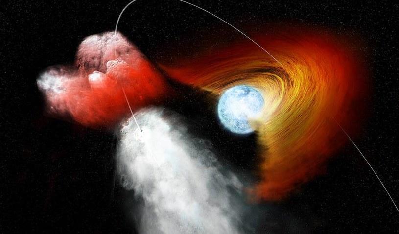 Badania naukowe i obserwacja kosmosu pokazała również, że wokół Pulsarów mogą krążyć planety /NASA