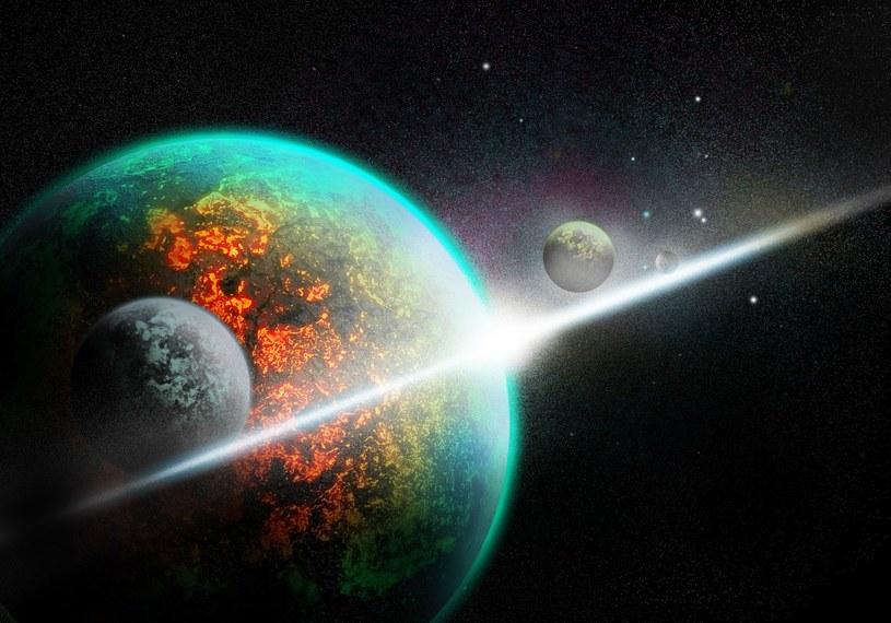 Badania pozwalają astronomom lepiej zrozumieć, jak powstają układy planetarne /123RF/PICSEL