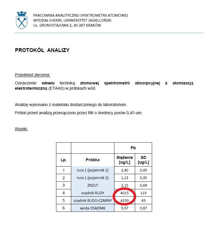 Badania UJ /Zrzut ekranu