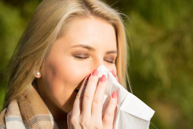 Badania wskazują, że katar sienny wiąże się z 2-3-krotnie większym ryzykiem rozwoju astmy /123RF/PICSEL