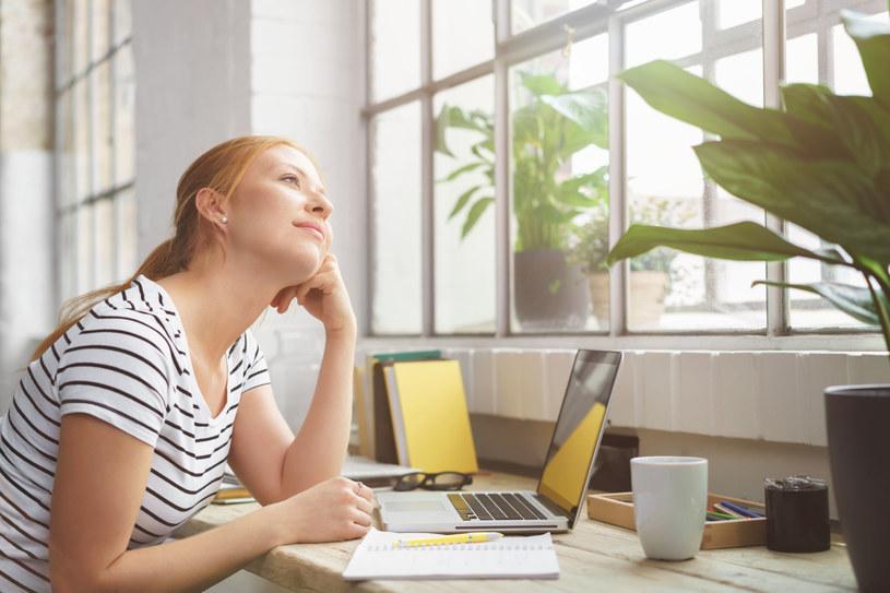 Badania wykazały, że najsilniejszym aspektem wpływającym na produktywność i możliwość skupienia się w miejscu pracy, była kwestia widoczności /123RF/PICSEL