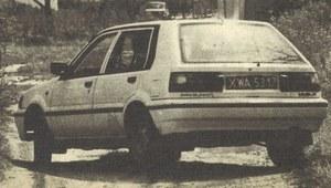 Badanie drogowe: Nissan Sunny 1.4 LX/SLX (N13)