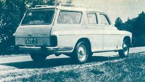 Badanie drogowe samochodu FSO Warszawa 203 K