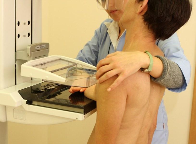 Badanie mammograficzne /Wojciech Traczyk /East News