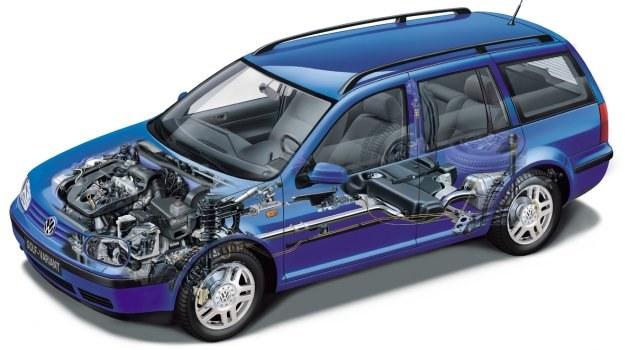 Badanie techniczne to nie przegląd /Volkswagen
