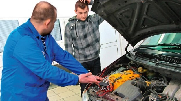 badanie techniczne /Motor