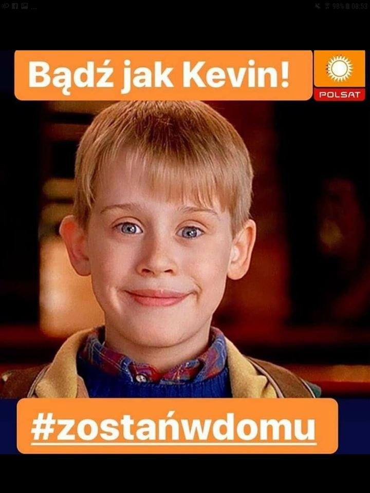 Bądź jak Kevin! #zostańwdomu /materiały prasowe