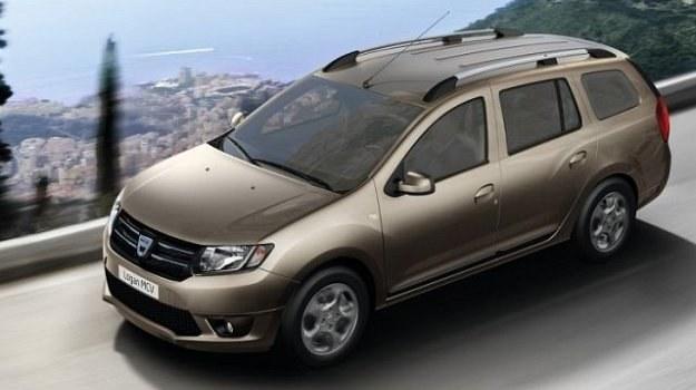 Bagażnik Dacii Logan MCV ma pojemność 573 l. /Dacia